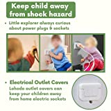 Baby Proof Outlet Covers Socket Caps 40pcs