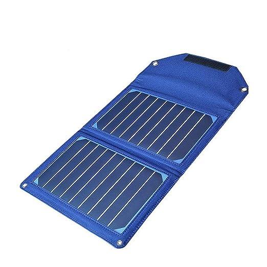 SEESEE.U Cargador Solar, 21W Cargador de Panel Solar ...