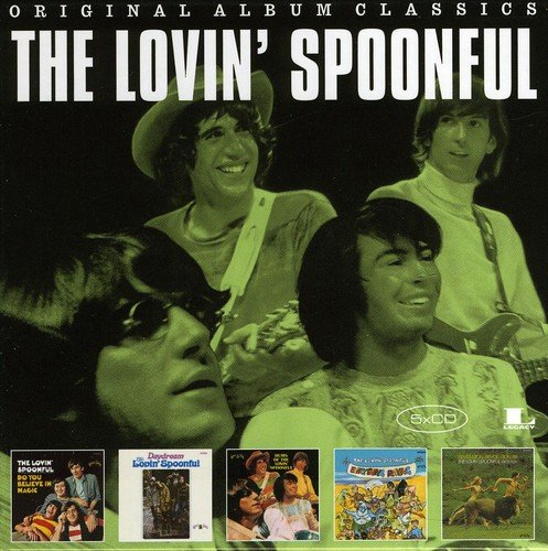 Price comparison product image 5cd Original Album Classics (Do You Believe In Magic\Daydream\Hums Of Th E Lovin' Spoonful\Everything Playing \Revelation: Revolution'69)