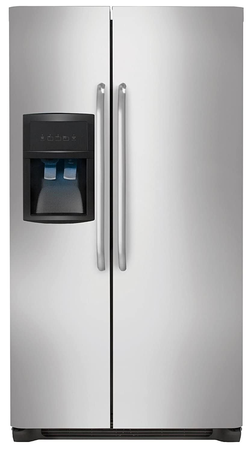 Frigidaire FRIGIDAIRE 26 cu. ft. Side-by-Side Refrigerator - Stainless Steel