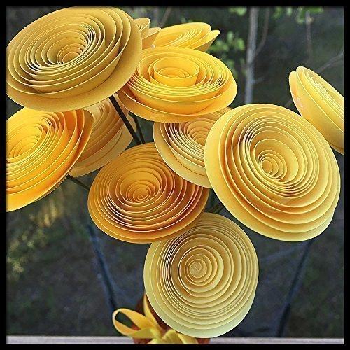 Amazon yellow paper flower friendship bouquet birthday gift yellow paper flower friendship bouquet birthday gift mightylinksfo