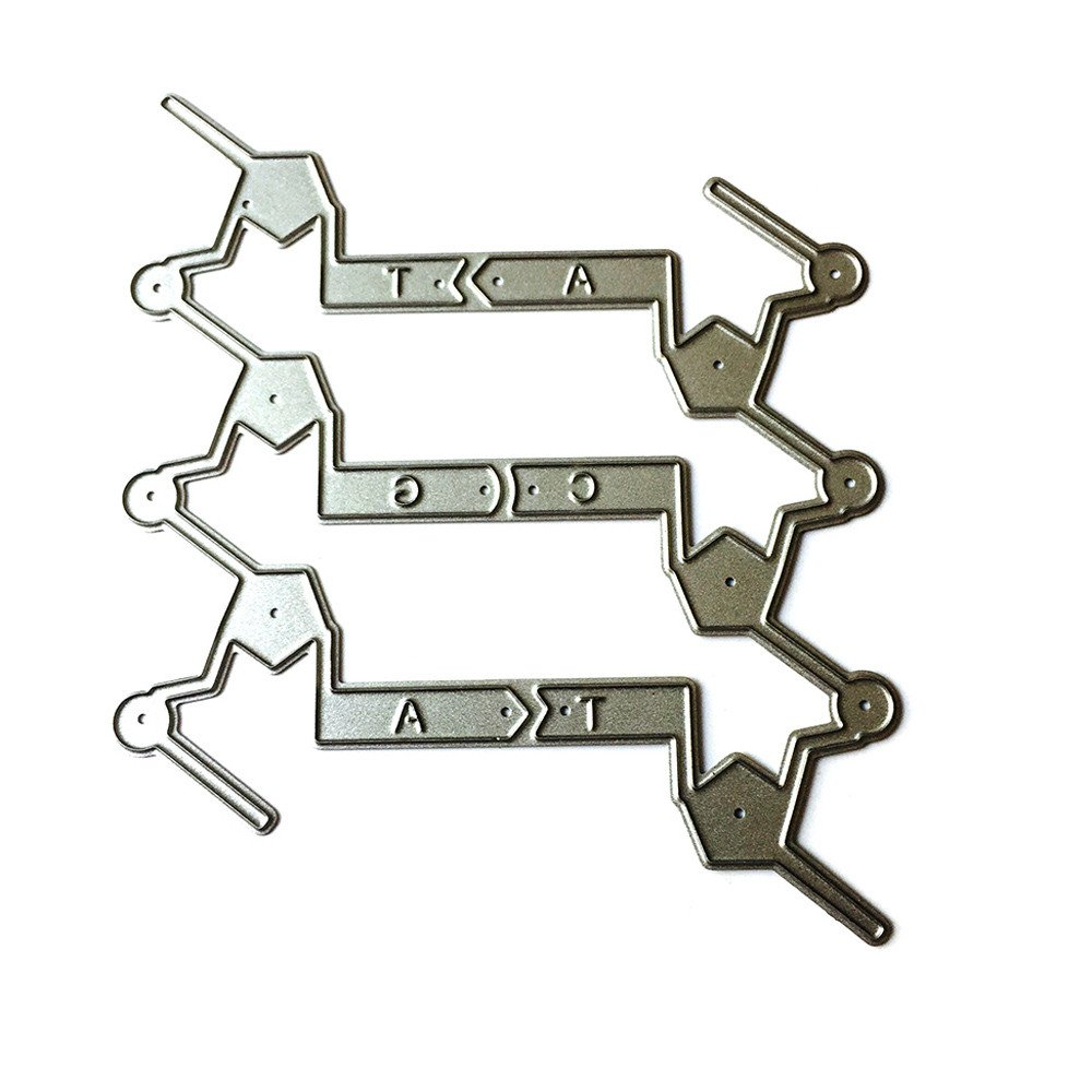 Andouy Matrices de D/écoupe pour Scrapbooking Cutting Dies #0131E Accessoires pour Big Shot et Autres Machines E