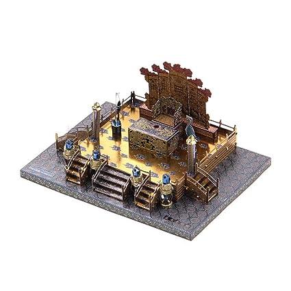 Amazon.com: Microworld 3d metal nano Puzzle zhengda ...