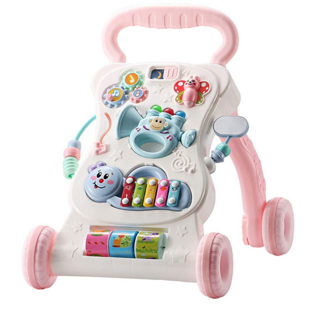 ZYP Andador de Rompecabezas para bebés, con Carro multifunción de ...