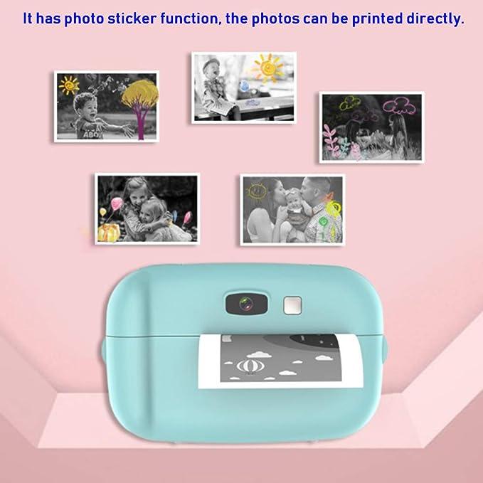 Fishlor Impresora térmica de cámara, Mini Impresora de ...