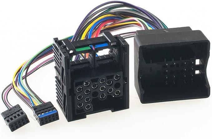 Radioanschlusskabel Umrüst Adapter Für Bmw Auto Radio Flache Pins Bm54 Auf Runde Pins Bm24 Mit Erhalt Cd Wechsler Navi Elektronik