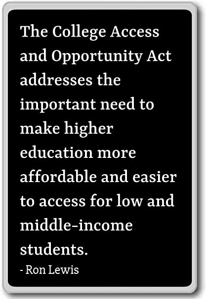 The College Access and Opportunity Act - Imán para nevera con ...