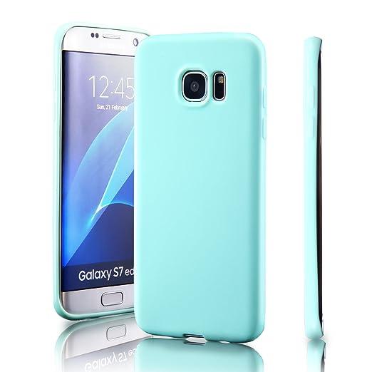 39 opinioni per Samsung Galaxy S7 edge Custodia, [Sottile Elegante] Graffio Resistente TPU Gel