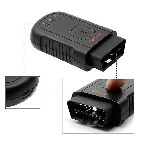 Autel Maxisys MS906BT has the oscilloscope and digital camera that helps you to perform repairs in constricted spaces.