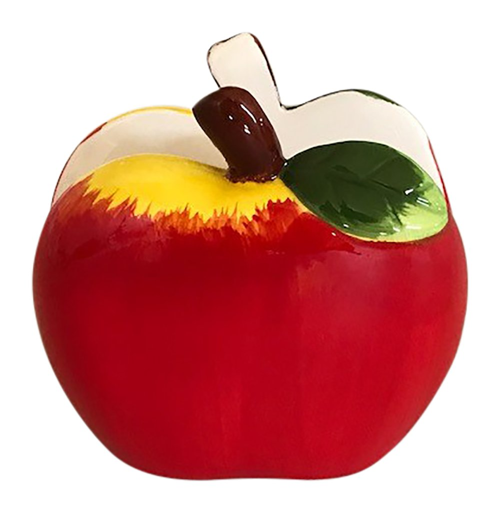 Decorative Red Apple Napkin Holder for Themed Kitchen