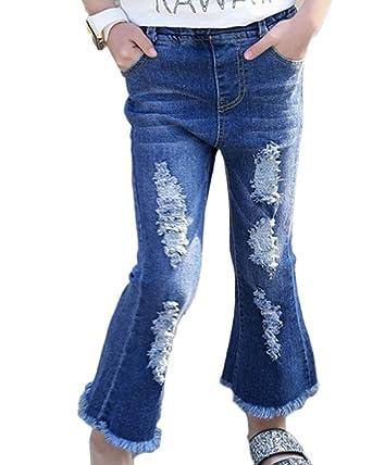 Pantalones Vaqueros Bootcut Para Niña Denim Pantalones Jeans ...