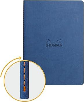 Rhodia Rhodiarama A5 Hardback Notebook Lined NEW! Sapphire Blue