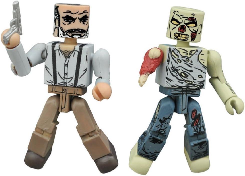 Hilltop Leader Gregory & Forest Zombie Walking Dead Minimates by Minimates: Amazon.es: Juguetes y juegos