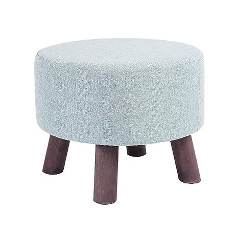 Superb Amazon Com Stool Foot Stool Upholstered Footrest Wooden Short Links Chair Design For Home Short Linksinfo