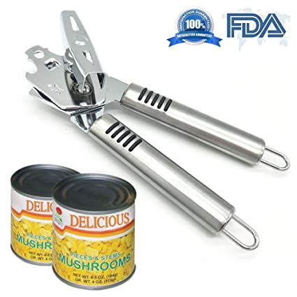 Delicious High Quality Manual Can Opener Professional Safety Multi-function Stainless Steel Can Opener Home Appliances