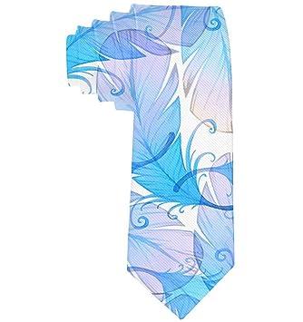 Corbata de plumas de pavo real Corbatas de seda de moda de regalo ...