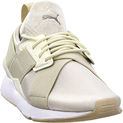 Amazon.com | PUMA Womens Muse Satin II Casual Sneakers, | Shoes