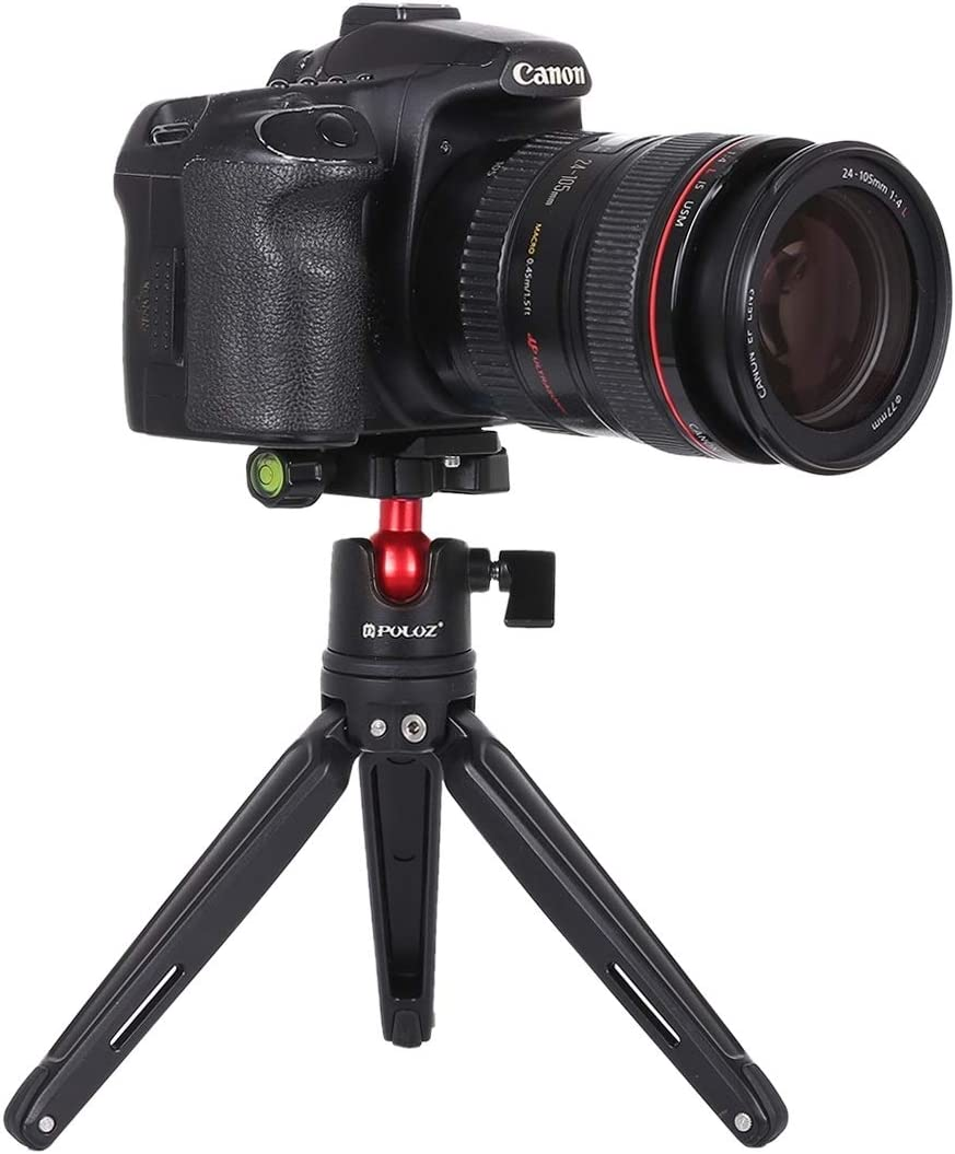 Color : Black Camera Accessories 360 Degree Rotation Panoramic Metal Ball Head with Quick Release Plate for DSLR /& Digital Cameras Black