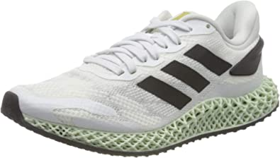 adidas 4d Run 1.0, Zapatillas para Correr de Diferentes Deportes para Hombre, Ftwwht/Cblack/Gold MT, 35 2/3 EU: Amazon.es: Zapatos y complementos