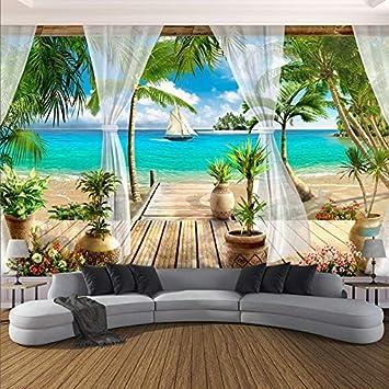 Amazon.com : Personalizzato Murale Wallpaper Moderna 3D ...