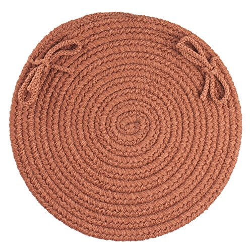 (Solid Chair Pad, Almond )