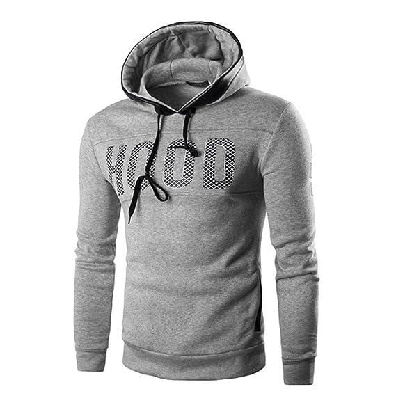 Sudadera con Capucha Hombre Invierno Impresión Sudadera con Capucha Delgada Abrigo cálido Abrigo Outwear Tops