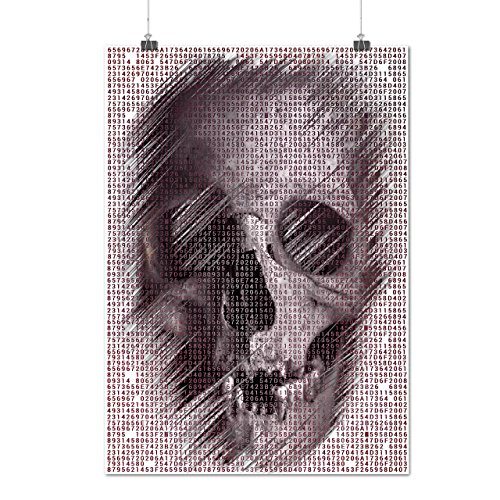 [Skull Devil Eyes Art Costume Matte/Glossy Poster A3 (12x17 inches) | Wellcoda] (Purge Costume Uk)