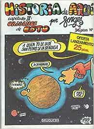 Historia de Aqui numero 01: origenes de esto: Amazon.es: Forges ...