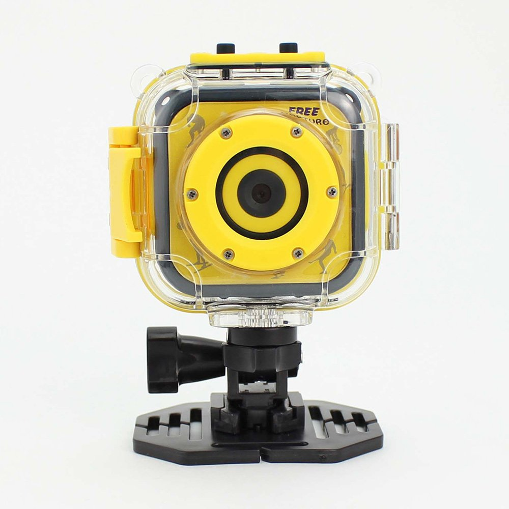iGANK Action Camera, Waterproof Sports Camera HD Camcorder for Children Kids
