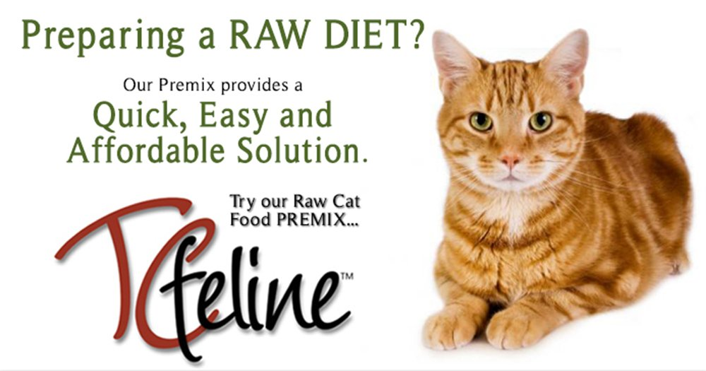 Amazon tcfeline raw cat food a premix supplement to make a amazon tcfeline raw cat food a premix supplement to make a homemade raw cat food diet all natural grain free human grade and species forumfinder Choice Image
