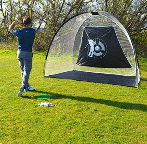 10x6ft Golf Net Practice Driving Indoor and Outdoor Golfing at Home Swing Training Aids Hitting Net Cage Golf With Carrying Bag