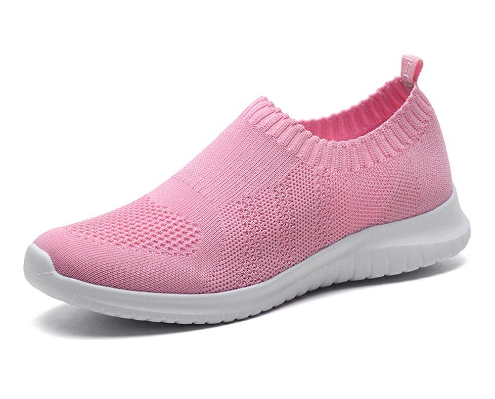 TIOSEBON HK2133, Damen Walkingschuhe  38 EU|2132 Pink