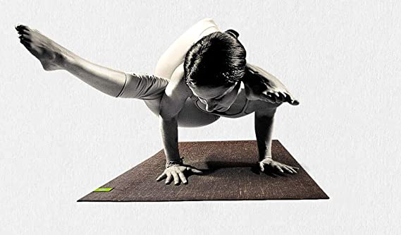 Amazon.com : YXGYJD Pilates Mat, Yoga Mat Natural Linen ...
