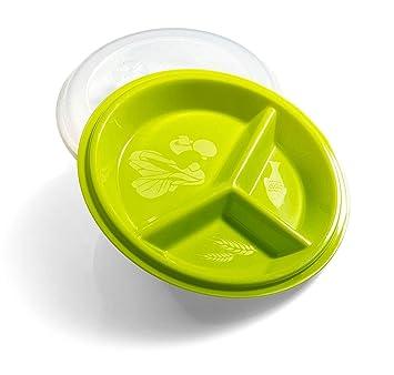 Precise porciones Go Healthy Portion Control placa - Sin BPA ...
