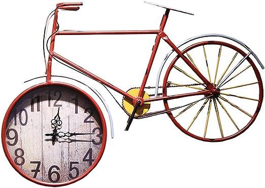 Reloj de Pared para Bicicleta, Reloj Decorativo Digital Vintage de ...