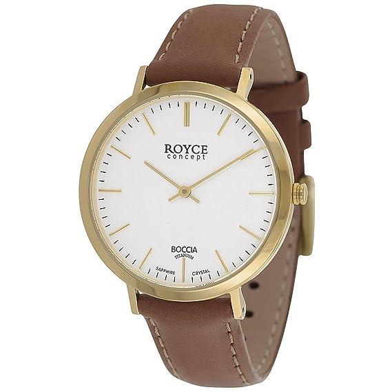 Boccia Reloj Digital para Hombre de Cuarzo con Correa en Cuero 3590-12: Amazon.es: Relojes