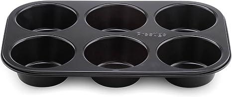 Amazon.com: Prestige Inspire 6 Cup Jumb Muffin Tin Carbon Steel