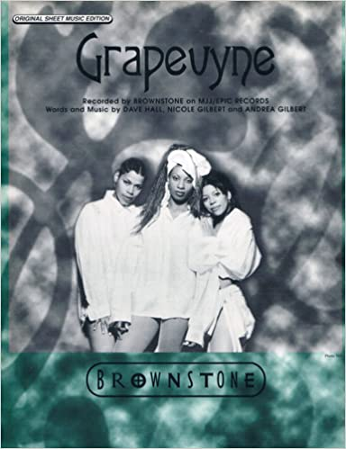 Grapevyne - Recorded by Brownstone (Original Sheet Music