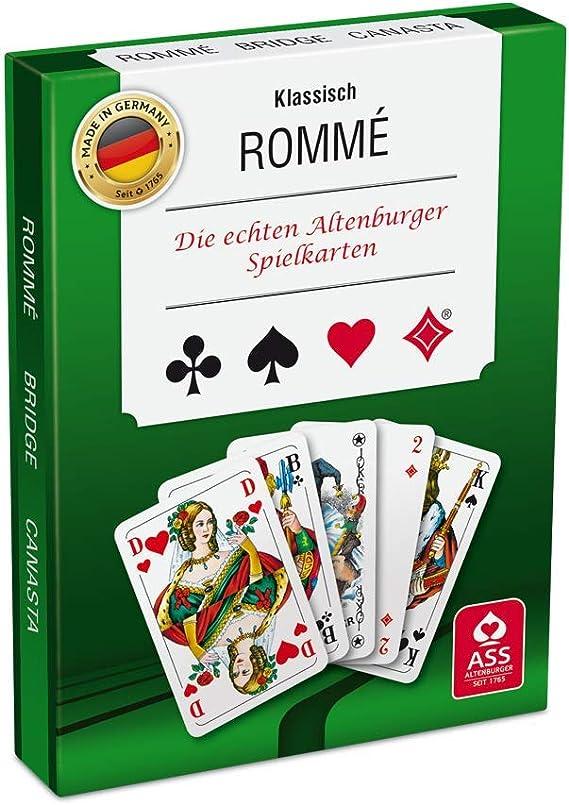 ASS Altenburger - Juego de cartas [importado de Alemania]: Amazon.es: Juguetes y juegos