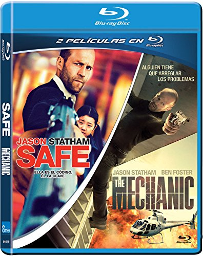Pack: Safe + The Mechanic (Blu-Ray) (Import Movie) (European Format - Zone B2) (2014) Jason Statham; Boaz Yaki