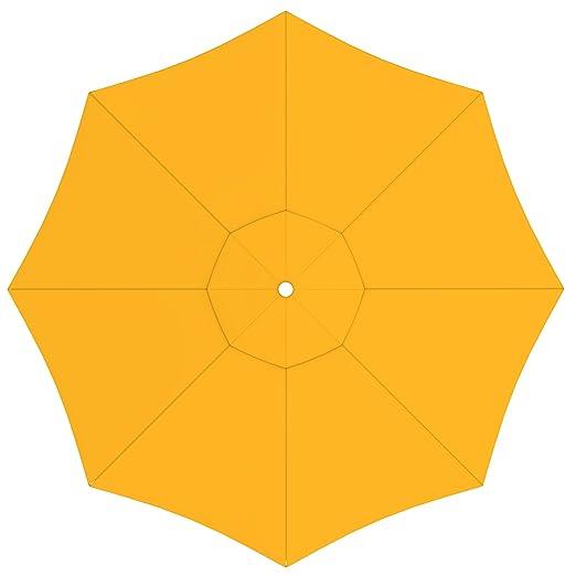 Ricambio Ombrellone Da Giardino.Paramondo Telo Di Ricambio Incl Air Vent Per Ombrellone Da
