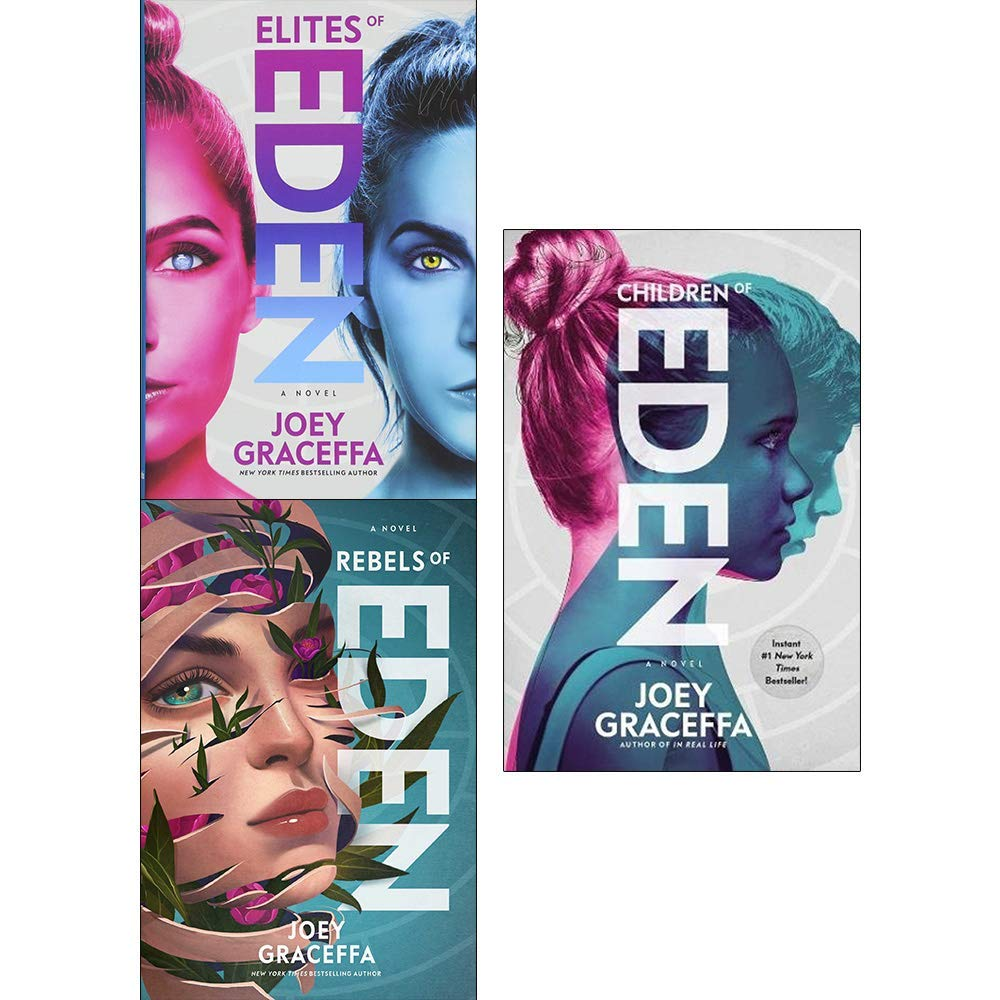 Children of eden trilogy joey graceffa collection 3 books set (children of  eden, elites of eden [hardcover], rebels of eden [hardcover]): Joey  Graceffa: ...
