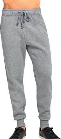 Details about  /Mens Fleece Jogging Bottoms Tracksuit Pants Sports Gym Running Casual Joggers