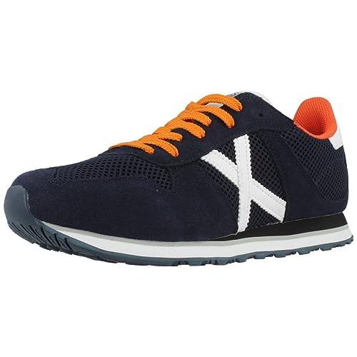 Zapatillas Munich Massana 138 - Color - Azul, Talla - 40: Amazon.es: Zapatos y complementos