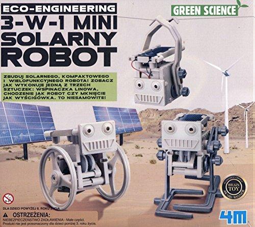 image 4m 3en 1Eco ingénierie Mini Solaire Robot Jouet