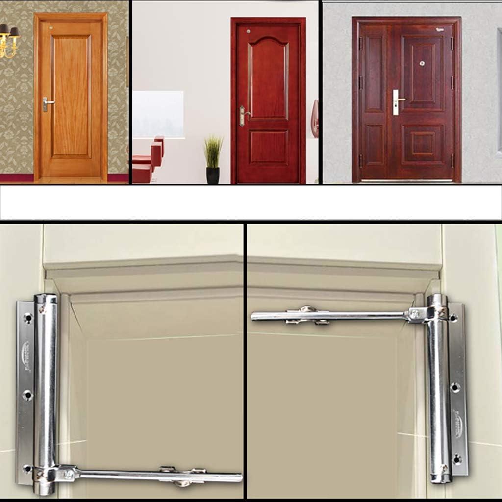 Cierre de puerta,Muelle Cerrador de puerta Peso ligero Automática Cerrar Pequeño-A 15.3x5.3x3.2cm(6x2x1inch): Amazon.es: Bricolaje y herramientas