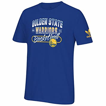 Adidas Golden State Warriors NBA Azul Originals Premium Equipo Fuerte Graphic Camiseta para Hombre, XL, Azul: Amazon.es: Deportes y aire libre
