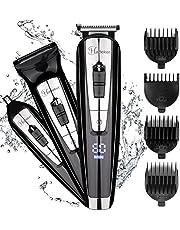 Hatt eker 3 en 1 para la barba Kit para hombres Cuerpo Groomer Kit Bigote recortador