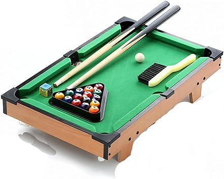 GUO Hogar estadounidense madera pequeña negro 8 mesa de ...