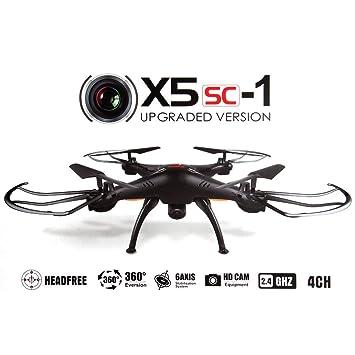 Syma X5SC Mejorado Nueva Versión Syma X5SC-1 Falcon Dron HD 2.0MP ...